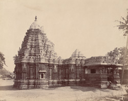 General view from the south-west of the Tarakeshvara Temple, Hangal